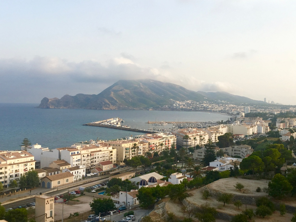Vistas mirador Altea
